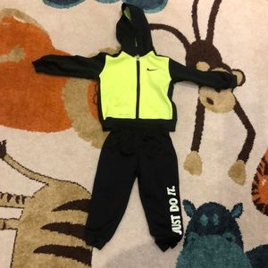 Toddler Nike track suit